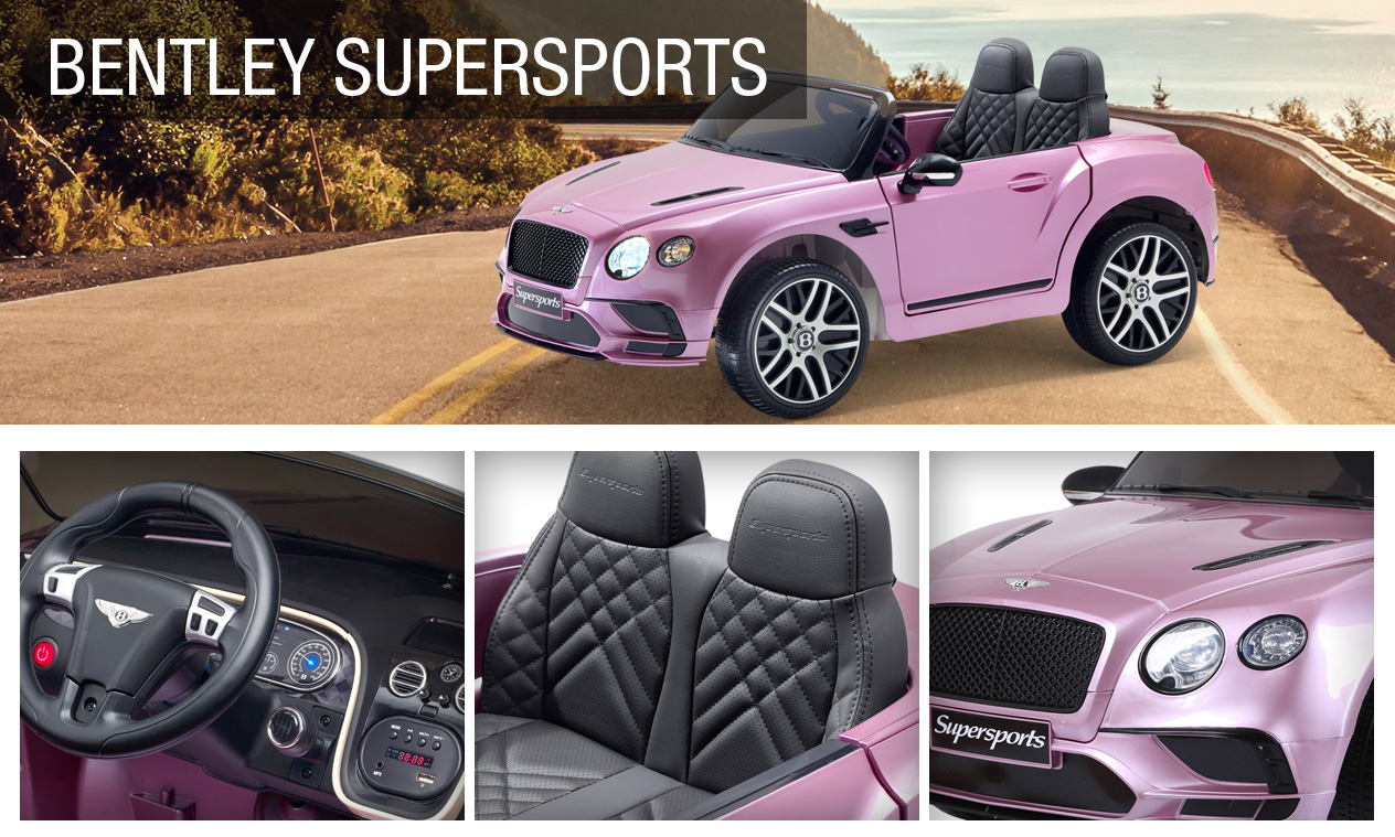 KidSquad Bentley Continental Supersports ride-on