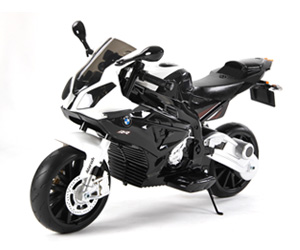 BMW motorcycle black